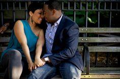 Adrienne & Chad Brooklyn Promenade Engagement