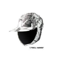 #New #TECLWOODCamo TECL-WOOD Functional Camo Hunting Cap With Cheek Warmer