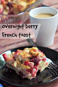 Overnight Berry French Toast