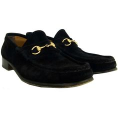 Gucci Black Suede Horsebit Loafers  http://www.consignofthetimes.com/product_details.asp?galleryid=6085
