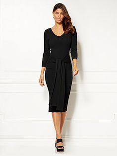 Shop Eva Mendes Collection - Margot Sweater Dress. Find your perfect size online at the best price at New York & Company.