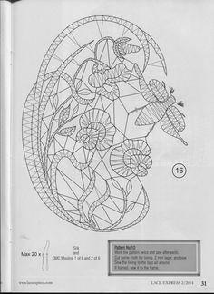Foto: Bobbin Lace Patterns, Lacemaking, Irish Crochet, Tatting, Vintage World Maps, Crafts, Albums, Drawings, Doilies