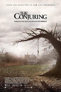 Directed by James Wan. With Patrick Wilson, Vera Farmiga, Ron Livingston, Lili Taylor. Paranormal investigators Ed and Lorraine Warren work to help a family terrorized by a dark presence in their farmhouse. Lorraine Warren, English Horror Movies, Best Horror Movies, Rhode Island, Horror Movie Posters, Animated Movie Posters, Patrick Wilson, Scary Movies To Watch, Ghost Movies