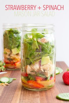 Mason Jar Salads for Every Day of the Week | Nosh and Nourish