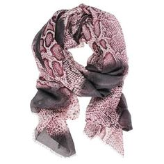 DLUX Snake Wool Silk Printed Scarf Snake, Wool, Prints, Accessories, Collection, Fashion, Moda, Fashion Styles, Printed
