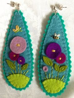 Hey, I found this really awesome Etsy listing at http://www.etsy.com/listing/158998132/large-felt-earrings