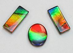Ammolite is an opal-like organic gemstone formed from an ancient marine fossil