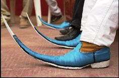 Long Pointy Mexican Boots   It's taking off, dahling. Mexican pointy boots are infecting the ...