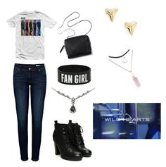 """""""R5 Concert: Fav Song: Wild Hearts"""" by rydellightningstrikes ❤ liked on Polyvore"""