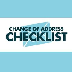 When it comes to moving to a new address, where do you start? This post gives you the run-down of who to notify first.