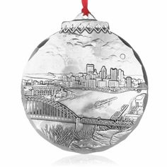New Horizon Ornament by Linda Barnicott, Aluminum