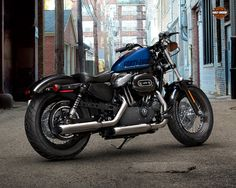 Harley Davidson Forty Eight - Blue