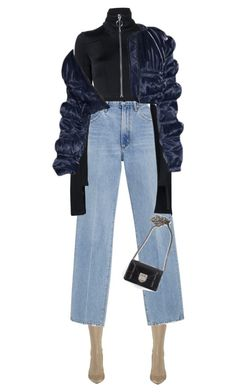 """""""Move  get out the way"""" by sofiaskippari ❤ liked on Polyvore featuring adidas, Goldsign, Off-White and Christian Dior"""