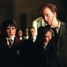 Harry Potter Parts, Lupin Harry Potter, Harry Potter Actors, Harry Potter Fandom, Harry Potter World, Harry Potter Fan Art, Neville Longbottom, Draco, Remus And Tonks