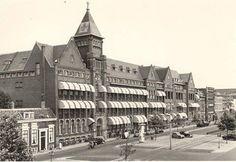 Rotterdam - Schiekade, Sint Franciscus Gasthuis. Rotterdam, Dutch Netherlands, Old Hospital, The Old Days, Old City, Holland, Past, Street View, Europe
