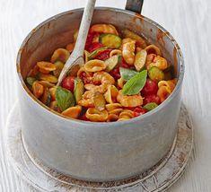 Bbc Good Food Recipes, Veggie Recipes, Pasta Recipes, Dinner Recipes, Cooking Recipes, Healthy Recipes, Bbc Recipes, Prawn Recipes, Savoury Recipes