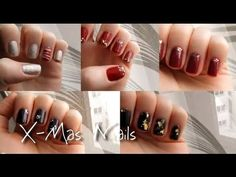 perfect nails for x-mas and other special occasions #nailart