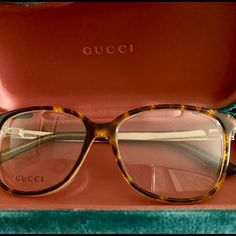 a1562bba84f Gucci frames Gucci frames in havana and gold (GG 3701 New condition never  used. Chic and fabulous.