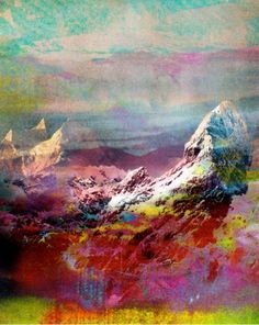 purple (and pink and blue and green and orange and...) mountains majesty