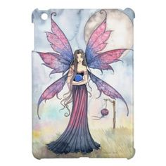 Purple Blue Fairy Fantasy Art iPad Mini Cover