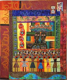 Diane Wright Art Quilts: Double Take: Photo and Fiber/Reinstalled