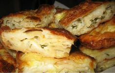 borek. my grandmother made this forever-just discovered it's turkish and not yugoslavian. either way, it's flaky and delicious.