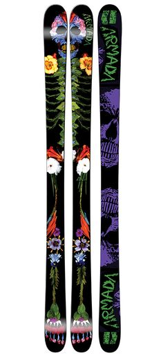 The light swing weight of the Hybrid Double Zone Core and AR50 sidewall construction make the ARW the best everyday ski for the female park skier. Park jumps or jibs are all within reach on the ARW.