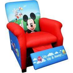 Disney Mickey Mouse Balloons Recliner
