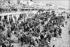 Mods on the beach 1964