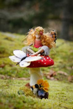The Toadstool Faeries — Lavender & Lark