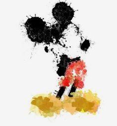 Mickey  watercolor