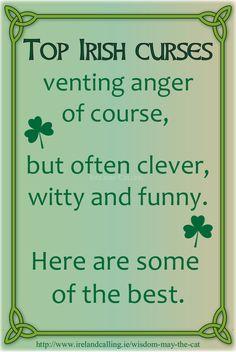 Irish     ((Visit Ireland Calling for more Irish humour and wisdom