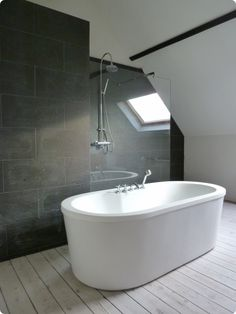 Bath & shower Natural / Industrial / White