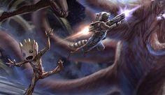Guardianes de la Galaxia vol. 2: James Gunn revela nuevos Concept Art | El…