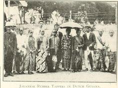 Javaanse balatableeders in Suriname - dubbelklik voor artikel