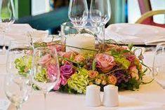 Tisch Deko Herzstück Kerze Romantik Kranz Blumen   Hochzeit Steffi    Pinterest