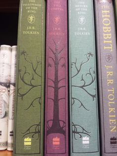 Gorgeous Tolkien covers