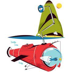 Monocle Mediterraneo - Matt Chase | Design, Illustration