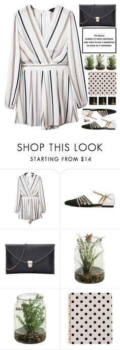 """""""don't tell me what love can do"""" by scarlett-morwenna ❤ liked on Polyvore featuring WithChic, Kate Spade, Polaroid, kitchen and vintage"""