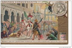 European School - Mehmed the Conqueror Sultan of the Ottoman Empire - Siege Of Constantinople, Mehmed The Conqueror, The Siege, Hagia Sophia, Ottoman Empire, Makeup Designs, Dracula, Istanbul, Novels
