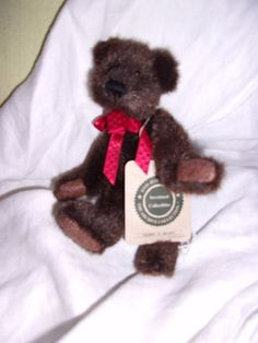 "7"" Boyds bear teddy bear collectible  w tag archive collection Derry o beary"