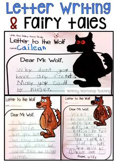 Writing letters to fairy tale characters is one of our favorite activities! It's a great way to integrate writing and character development! Read about how we explore fairy tales and literacy with letters, masks, readers theater and more.
