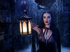 Katy in the castle