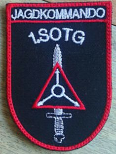 Patch Jagdkommando 1TG Special Forces