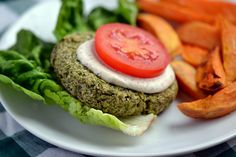 Green Power Burgers with Aioli