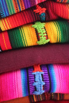Traditional Textiles, Fabrics of Antigua, Guatemala, Photos from Charles Harker