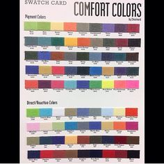 59 best comfort colors images on pinterest comfort colors