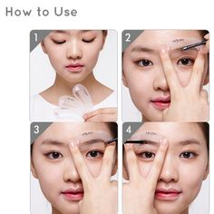 Etude House Mini Brow Class Class Drawing Guide ** Check out this great product. (This is an affiliate link) Brow Stencils, Drawing Stencils, Eyebrow Stencil, Eyebrow Tools, Eyebrow Brush, Eyebrow Makeup, Beauty Care, Beauty Makeup, Beauty Tips