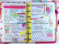 "166 Likes, 5 Comments - Andrea Has a Plan (@andreahasaplan) on Instagram: ""Here's my #afterthepen layout for last week! I had a lot of fun spending my week with this…"""