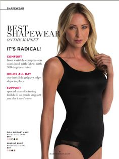 Ruby Ribbon's Cami - Comfort. All Day Hold and Support at its Best! www.rubyribbon.com/karenmitura
